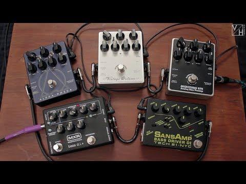 Bass Pedals Shootout – Darkglass, Tech 21 & MXR