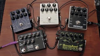 Bass Pedals Shootout – Darkglass, Tech 21 & MXR