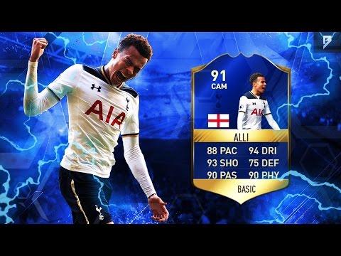 91 TOTS DELE ALLI PLAYER REVIEW!!! (FIFA 17)