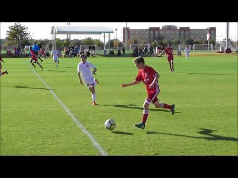 USSDA U13 FC Dallas Academy Vs. Houston Dynamo Youth Academy Highlights Nov 19 2017