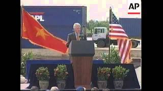 VIETNAM: CLINTON VISIT TO HO CHI MIN CITY