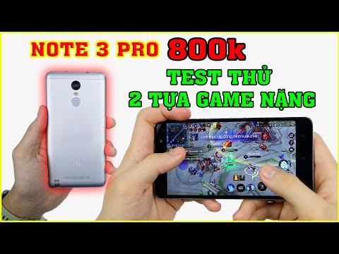 Điện thoại 800k ở 2020 chơi Game ra sao? Test Game Redmi Note 3 Pro chip Snapdragon 650.