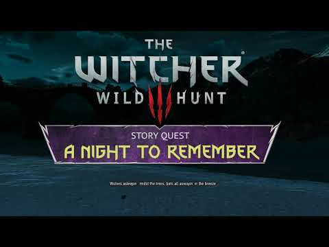 [Witcher 3] New Quest MOD - A Night to Remember (trailer)