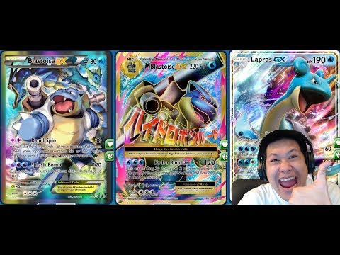 Splash DMG Mega BLASTOISE Deck, The FIRST Mega Pokemon STILL