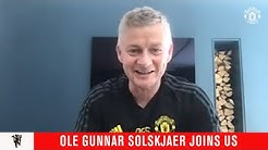 Ole Gunnar Solskjaer joins the group call | Manchester United | MUTV Group Chat