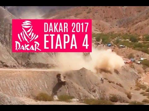 El espectacular vuelco que protagonizó Carlos Sainz lo hizo abandonar el Rally Dakar 2017