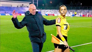 Funniest moments with football referees