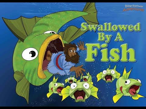 Jonah And The Big Fish | Swallowed By A Fish