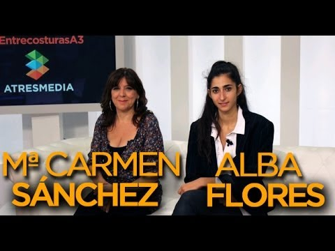 Mª Carmen Sánchez y Alba Flores de El tiempo entre costuras - VIDEOENCUENTROS