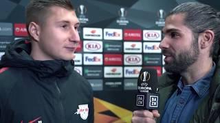 Willi Orban im Interview mit DAZN vor Leipzig vs Trondheim