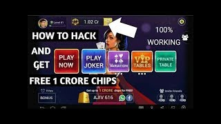 HOW TO GET FREE 1 CRORE CHIPS IN TEEN PATTI GOLD (HACK) | Teen Patti Gold Unlimited Chip Hack
