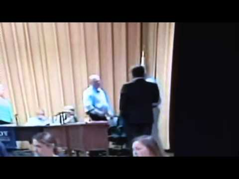 Peabody School Committee confrontation