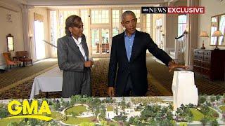 Former President Obama's presidential center breaks ground l GMA