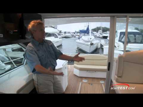 Cruisers Yachts 41 Cantius Features 2012- By BoatTest.com