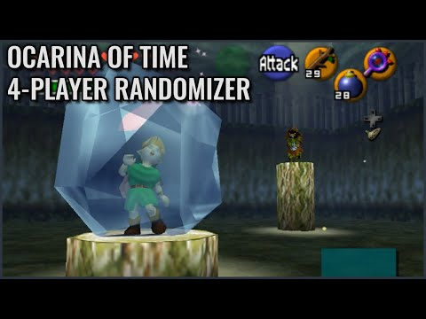 Ocarina of Time Multi World Randomizer - Ice Trap Onslaught,