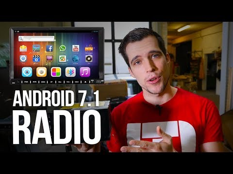 BEST 2DIN Android Car Stereo 2017 ! Installation + Review !