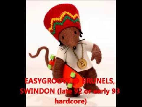 EASYGROOVE @ BRUNELS, swindon late 92 or early 93 hardcore