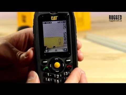 Caterpillar CAT B25 обзор защищенного телефона