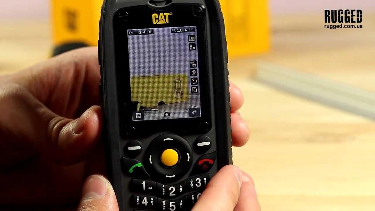 CAT S40 ОБЗОР и ТЕСТЫ - защищенный смартфон - YouTube