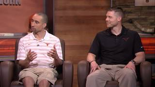 Longhorns give assistant coach Mike Morrell dating advice [May 28, 2015]