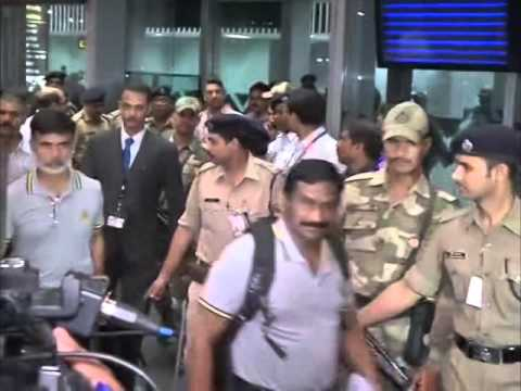 Pakistan cricket team arrive in India amid tight security ...