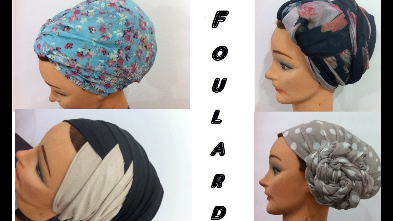 comment nouer un foulard partie3 turban tutorial youtube. Black Bedroom Furniture Sets. Home Design Ideas