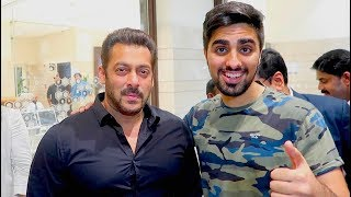 MEETING SALMAN KHAN !!!