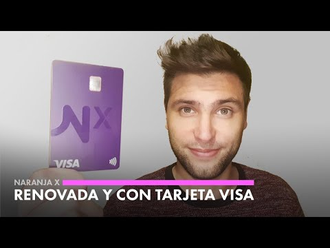 Naranja X: Tarjeta prepaga Visa y App completamente renovada