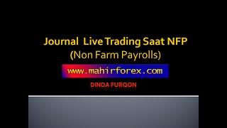 Non Farm Payroll Live Trading | Forex Trading Startegies | Trading on news Profit 1400 Pips