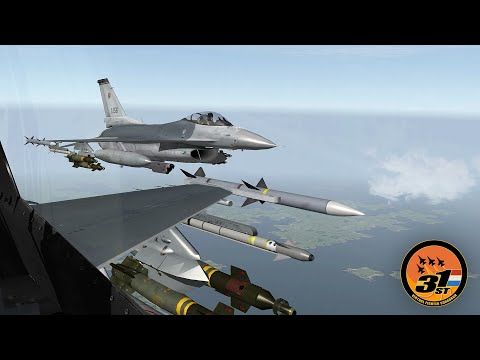 Falcon BMS: Full & Uncut 6 (St. Martin's day) - 31st VFS NL