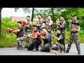 LTT Nerf War : SEAL X Warriors Nerf Guns Fight Criminal Group Alliance Swat Ultimate Hunt