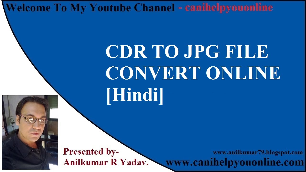 Convert Cdr to Jpg
