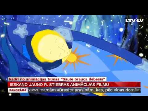 Ieskaņo jauno R. Stiebras animācijas filmu