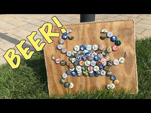 How to make a Beer Cap Crab (cheap)
