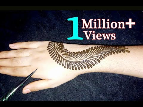 Most Beautiful mehndi designs || How to apply mehndi for back hand || mehndi for beginners