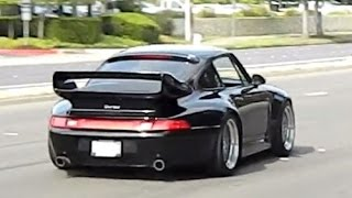 CARS & COFFEE Exotic Supercar Burnouts and Flybys in Blackhawk, CA August 3, 2014