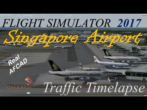 Prepar3D 2017 (Winter): Imagine Simulation - Singapore Changi Airport (SIN/WSSS)