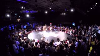 ISSEI vs JUN | Red Bull BC One Japan Cypher 2015 - Best8