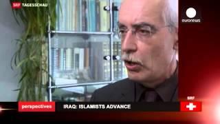 """Иракский Курдистан против """"Исламского государства""""(Сотни тысяч человек покинули свои дома, спасаясь от молниеносного наступления, начатого 9 июня группировко..., 2014-08-17T07:56:09.000Z)"""