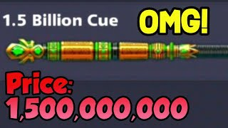 NEW 1.5B CUE! - 8ball pool (Berlin - With The Most EXPENSIVE Cue EVER)