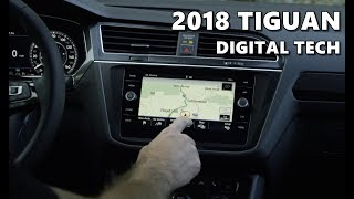 2018 VW Tiguan Infotainment, Digital Instruments