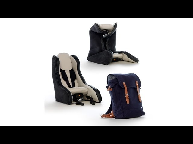 The Latest In Car Seat Innovation Volvo Unveiled An Inflatable A Few Years Ago You Can Check Out Video Below