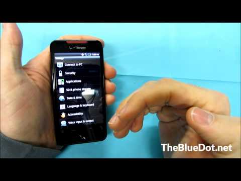HTC Droid Incredible How To: Factory Reset
