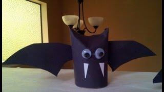 עטלף מגליל נייר