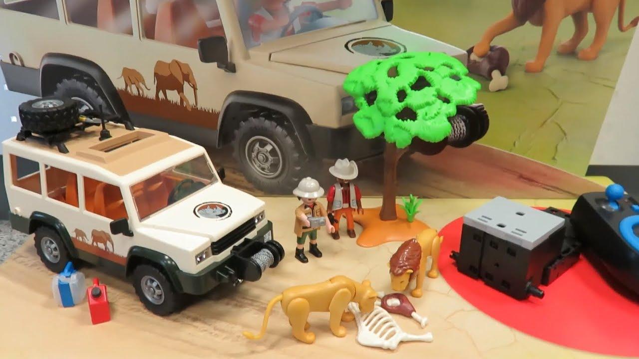 Safari Geländewagen mit Seilwinde Playmobil 6798 Wie neu.