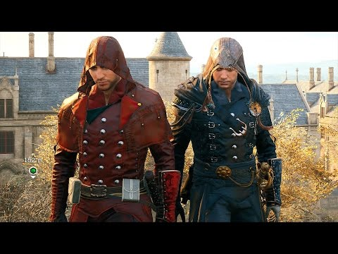 Assassin's Creed Unity Co-OP Fun Vs Les Enrages Ultra Settings