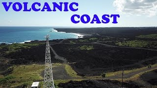 New Coastline Kapoho Hawaii Kilauea Lava Eruption Puna 2018