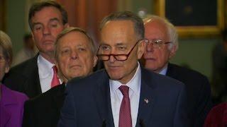 Sen. Schumer to lead Dems against Trump