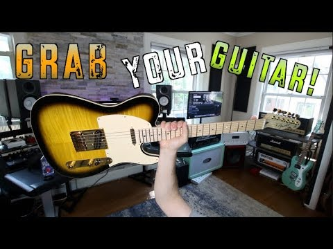 10 Riffs That'll Make You Grab Your Guitar ( You Picked Them!)