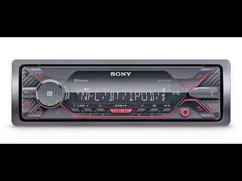 receptor-multimedia-para-coche-con-tecnología-bluetooth,-sony-dsx-a410bt